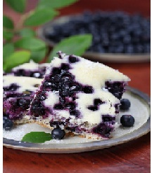 Blueberry Bar and Desserts